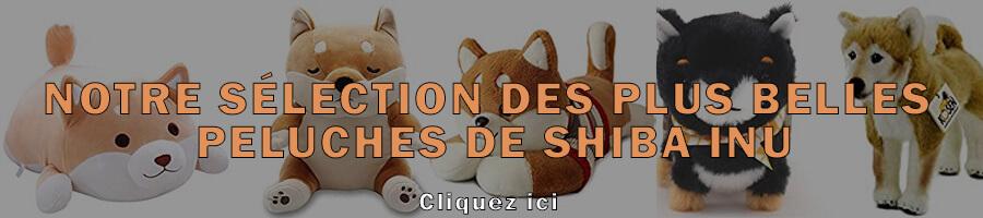 Les plus belles peluches de Shiba Inu